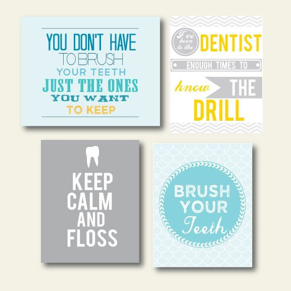 56 best Dental Decor images on Pinterest | Dental humor ...