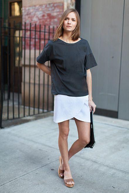 Drop Sleeve Shirt - Slate | Emerson Fry