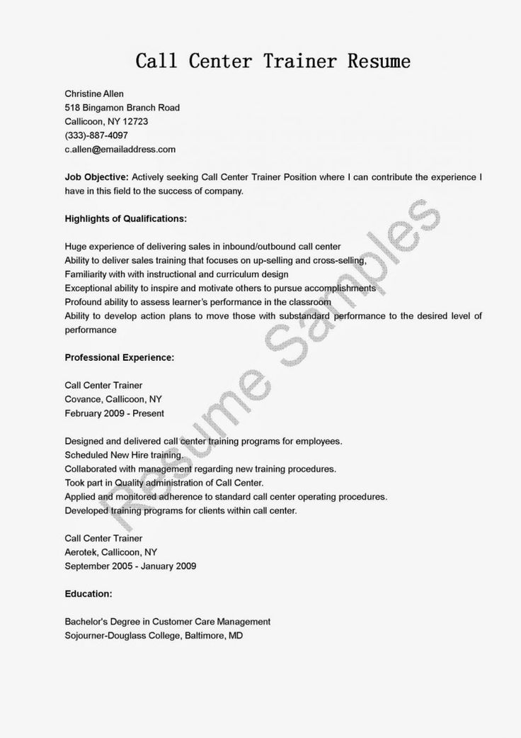 Best 20+ Sample Resume Ideas On Pinterest | Sample Resume