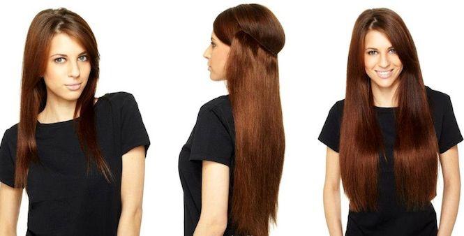 Flip-in hair in 3 stappen. Makkelijk, snel en niet schadelijk voor je haar!