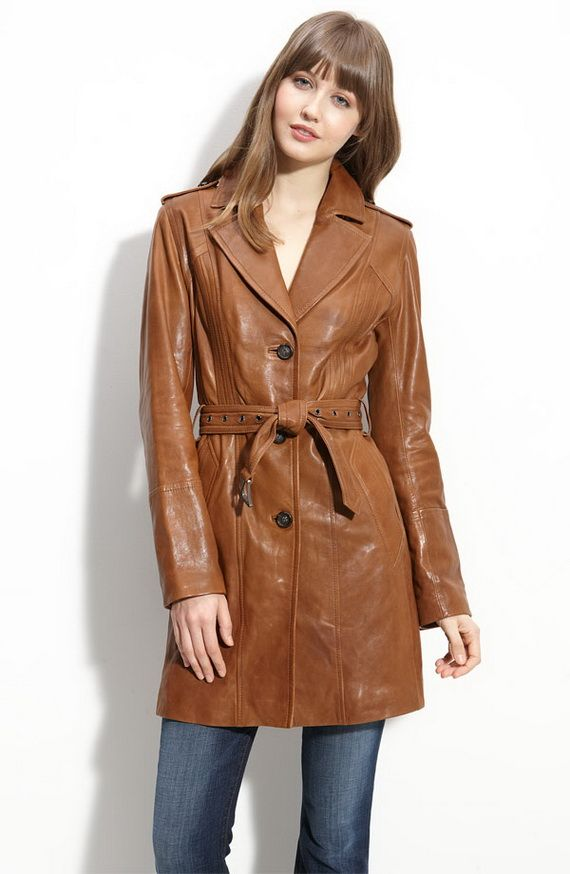 38 best Womens Leather Coats images on Pinterest | Womens leather ...