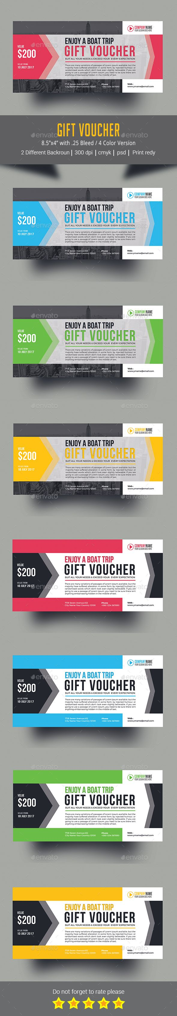 25 best gift voucher design templates images on pinterest design gift voucher design template loyalty cards cards invites template psd download here yelopaper Images