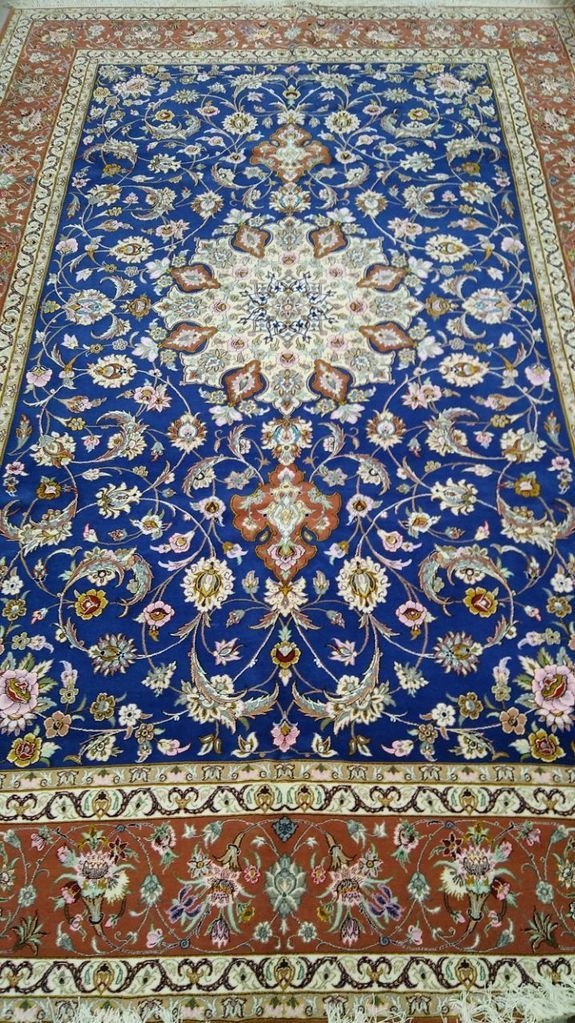 Hand Woven Persian Rug Isfahan 2x3 M
