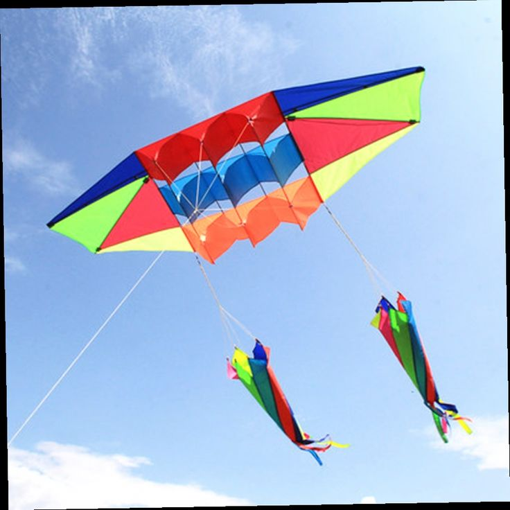 41.79$  Buy now - http://alilba.worldwells.pw/go.php?t=32520601835 - 2.45M/8ft Rainbow 3D Glider Airplane Single Line Kite Easy To Fly Power Kite Outdoor Toys Free Shipping  41.79$