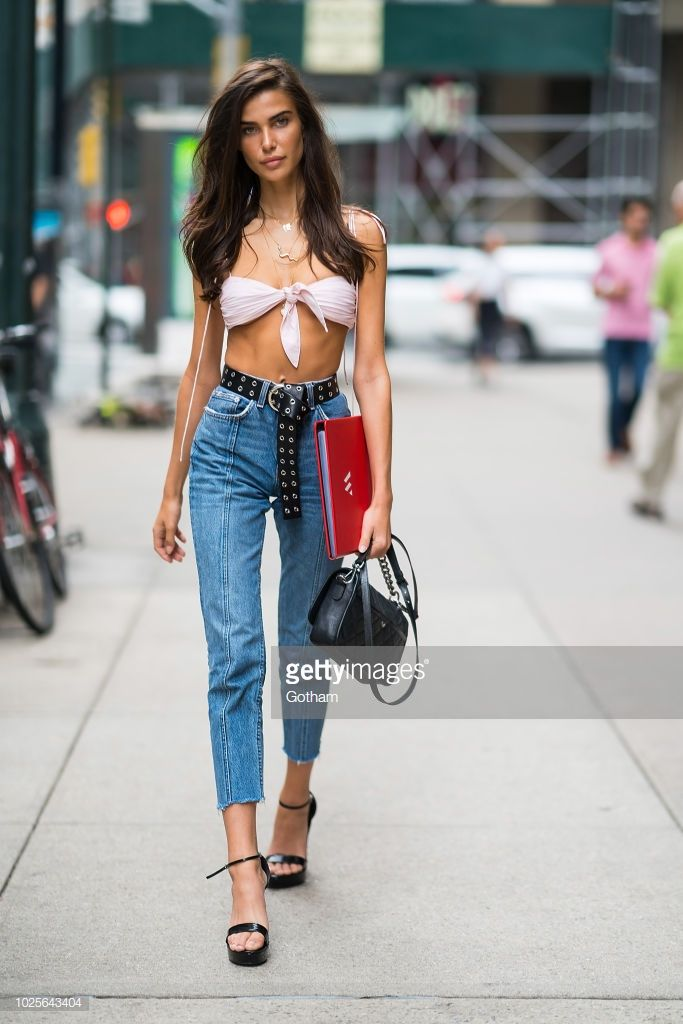 feb8a76fe3c Charlotte D Alessio attends casting for the 2018 Victoria s Secret Fashion  Show in Midtown on August 31