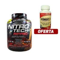 Gain #muscle & get ripped with Nitro-tech Ripped + Hydroxycut free. #fitness #supplement #suplementos #corposflex https://www.corposflex.com/muscletech-nitro-tech-ripped-performance-series-proteina