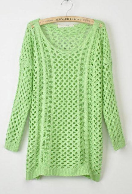 Open Mesh Knitting Stitches : 1000+ images about Spring 2015 Sweaters on Pinterest Sweater patterns, Stit...