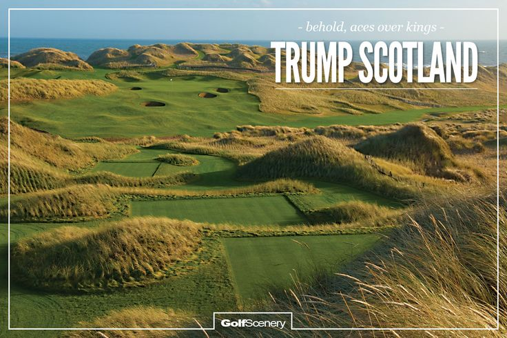 Best Scenery in Scotland | Love him or loathe him, Donald Trump's mission was to build the ...
