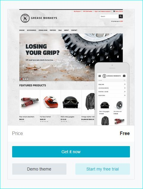 Best Mobile First Responsive Shopify Free Themes Images On - Shopify website templates