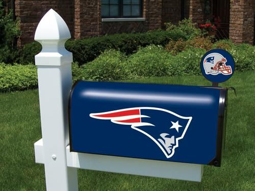 New England Patriots Official Mailbox Cover and Flag - Overstock Shopping - Great Deals on Football