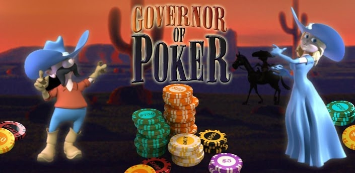 Set in a wild wild west theme, the more poker hands, cash games and tournaments you win, the greater your ability to purchase property and increase your reputation in town. The better your reputation, the more games you are invited to play. Buy houses, move from town to town and win city by city against a kooky cast of players. Place your bets and go all-in to win cash, property, fame and the title of Governor! In Governor of Poker you can really make it, and when you make it, you make it…