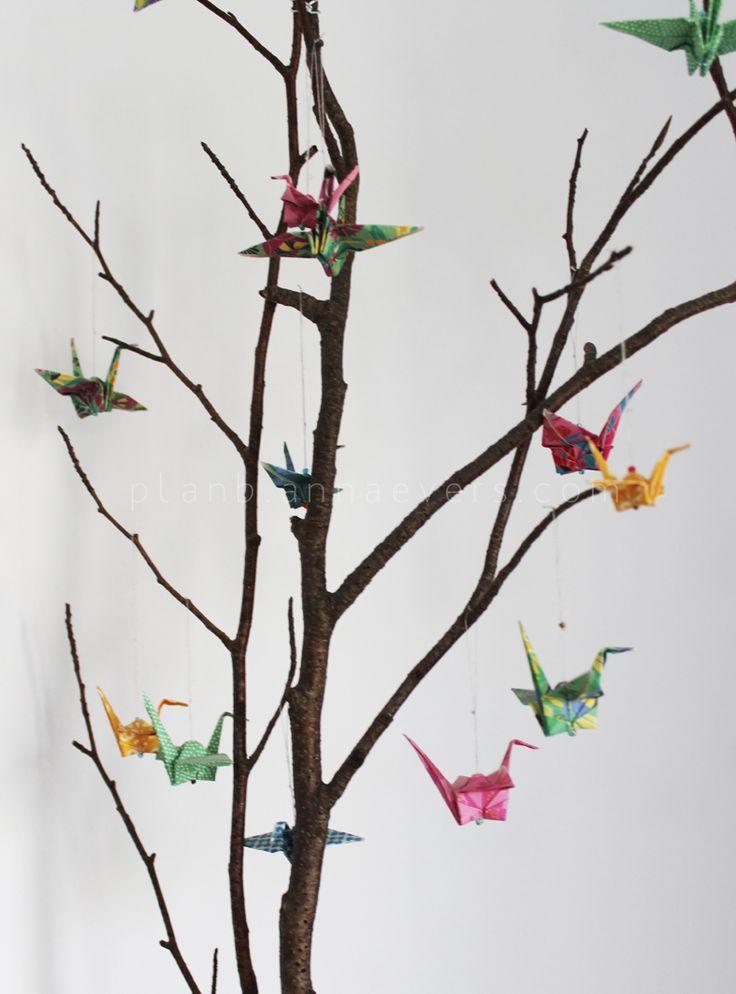 Plan B anna evers DIY Origami bird tut