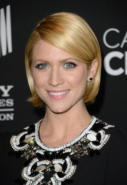 Brittany Snow Hair - if I had the courage to gap short.