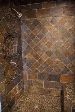 New slate bathroom contemporary bathroom