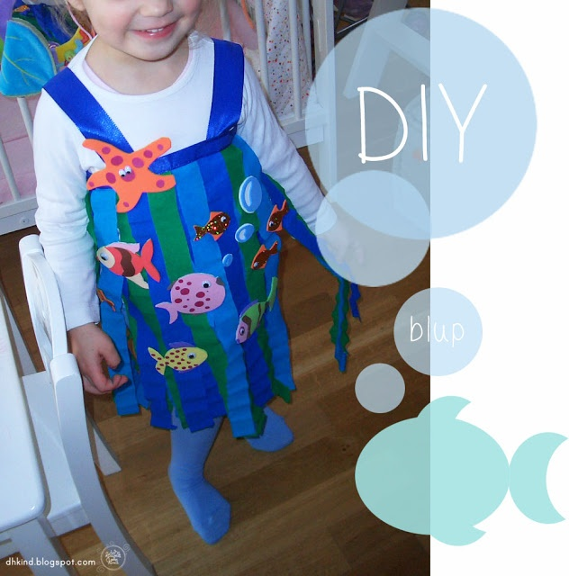 This sea creature costume will look perfect trick-or-treating at Spooktacular! #halloween #DIYcostume #SeaWorldSpooktacular