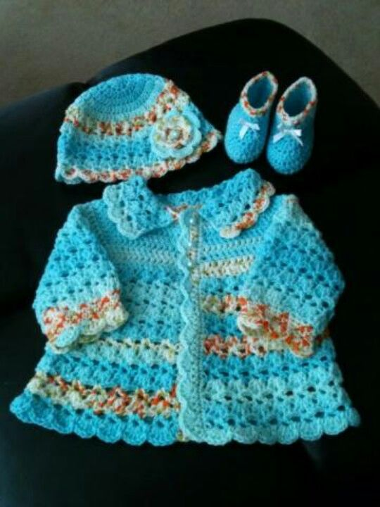Color Combo Inspiration Wood Interiors With Grey Accents: 1039 Best Images About Crochet Baby Sweaters On Pinterest