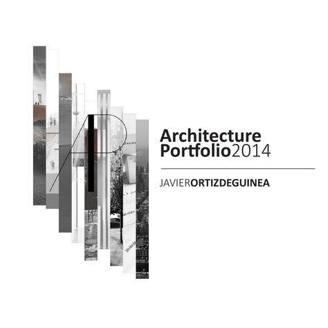 ISSUU - Architecture Portfolio by Javier Ortiz de Guinea