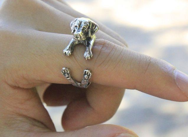 Labrador Retriever Wrap Ring