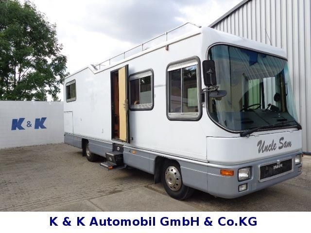 Niesmann+Bischoff MAN Clou Liner 900 Standklima, Motorhomes/Caravanes Intégrale à Jesewitz, occasion achetez sur AutoScout24 Trucks