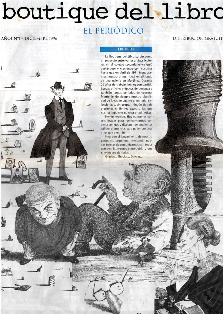 Edicion 1 del periódico de la boutique del Libro San Isidro, 30 años