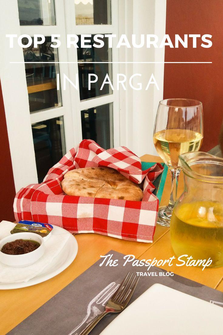 Top 5 restaurants in Parga, Greece!   Visit THE PASSPORT STAMP TRAVEL BLOG!
