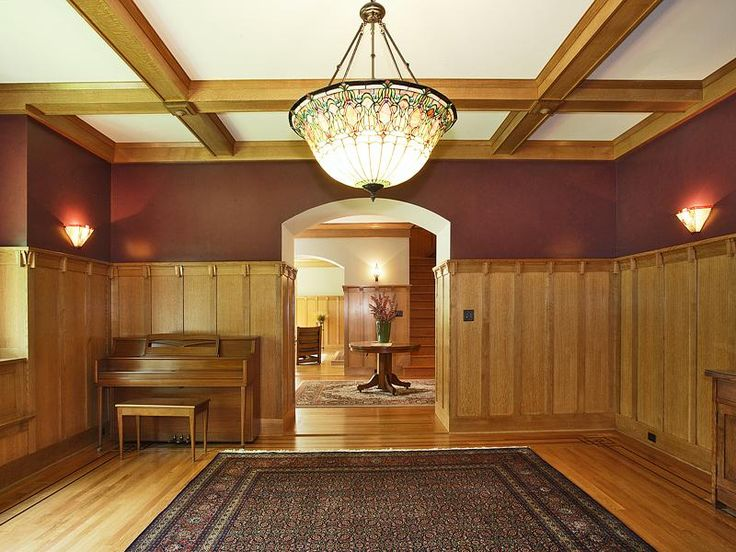 Elegant Craftsman Style Interiors To Give Warmth And Strength Luxury Design Old