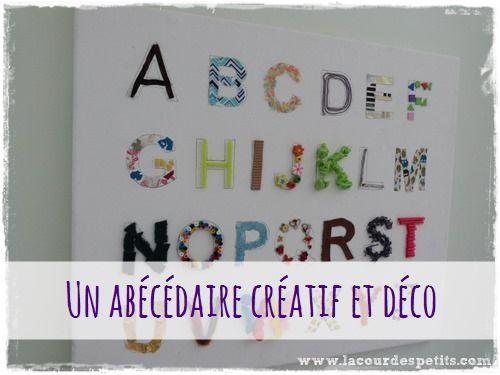Un ab c daire pour d corer sa chambre montessori for Chambre montessori 6 ans