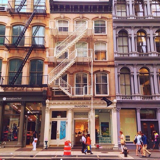 New York City Feelings - SoHo by victoriasavan