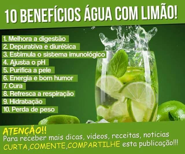Beneficios Agua Com Limao Com Imagens Beneficios Da Agua Com Limao