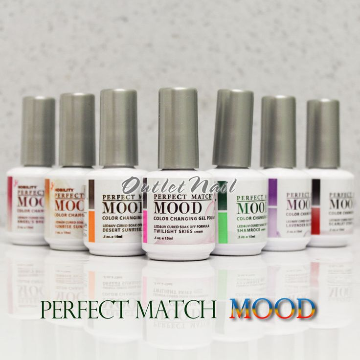 Mood Colors 41 best lechat perfect match mood gel polish images on pinterest