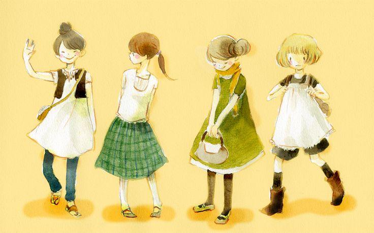 "Eriko Kurita (In the Pocket), ""夏服"" (""Summer Clothing""). Aw. :)"