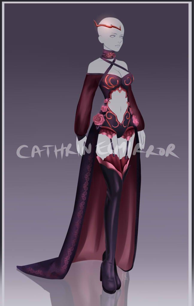 (CLOSED) Adopt Audcion - Outfit 48 by cathrine6mirror