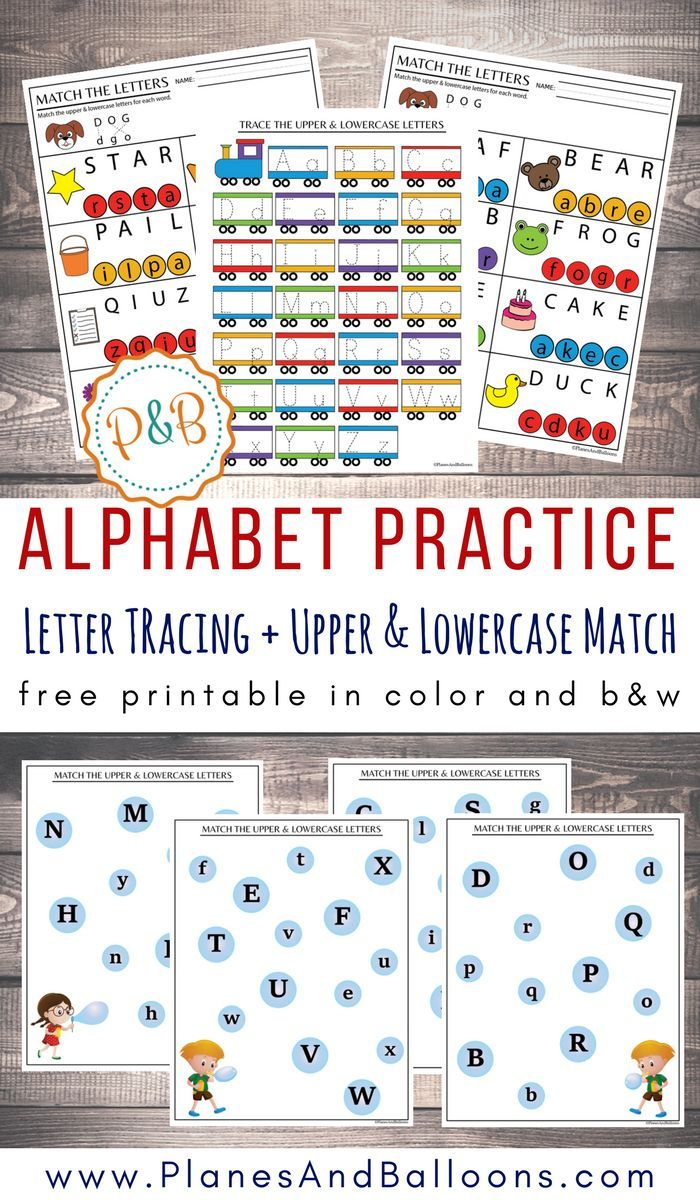 Alphabet Worksheets Free Printable Pdf Tracing Matching Letters Alphabet Worksheets Free Alphabet Worksheets Printable Alphabet Worksheets