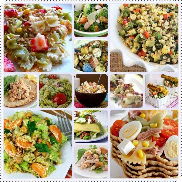 13 recetas de ensaladas deliciosas ¡te gustarán!