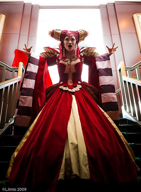 Yaya Han as Carmilla/Vampire D Hunter. She wins Love her ...