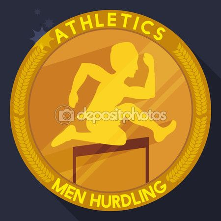 Athletics Golden Medal in Flat Style