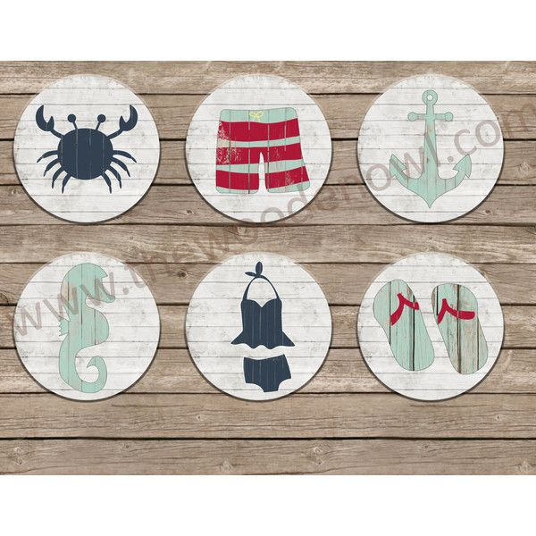 Coastal Wall Art Large Wall Hanging Wooden Wall Art Nautical Decor 18... ($50) ❤ liked on Polyvore featuring home, home decor, wall art, home & living, home décor, silver, wall décor, wall hangings, anchor home decor and wooden home accessories