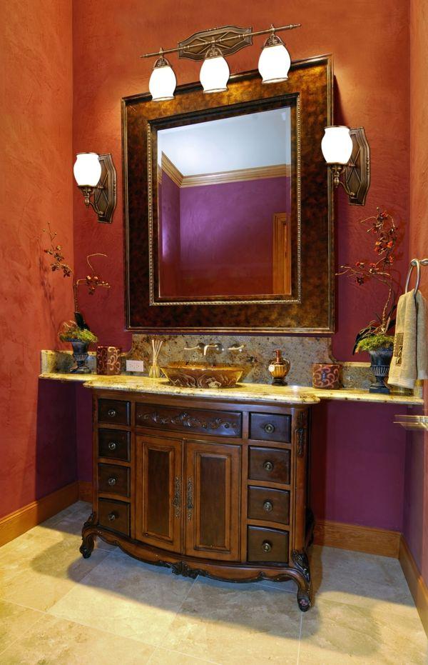 New Badezimmerlampen Das Badezimmer ist f r uns alle der wichtigste Raum morgens und abends Um sich perfekt zu rasieren oder zu schminken braucht man die