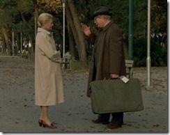 """Marcello Mastroianni e Michèle Morgan in """"Stanno Tutti Bene"""""""