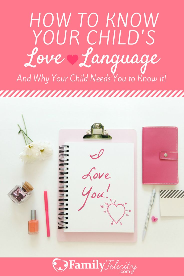 Making your child feel loved is a huge priority for parents. But what if we could actually customize the way we show that love specifically for your child? You can! It's called showing love in their own love language.