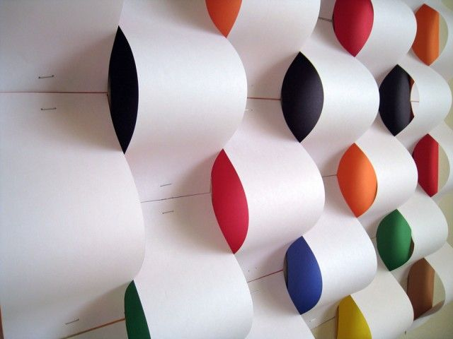 Paper Installations by Nathalie Chikhi