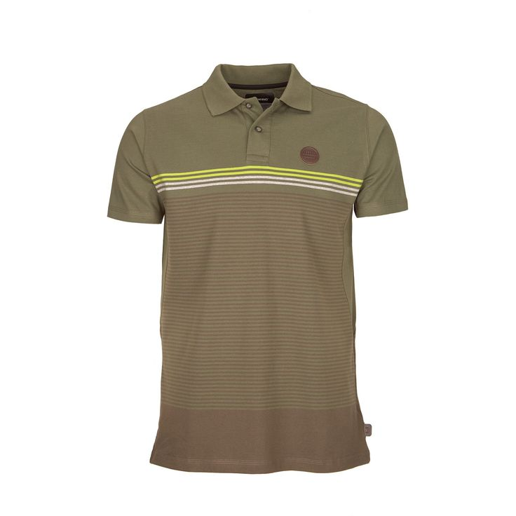 Versatile and casual short sleeve polo for urban wear on mild days.