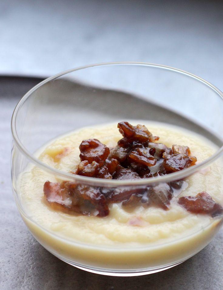 Pastinaaksoep met appel en gekarameliseerde ui // Francesca Kookt