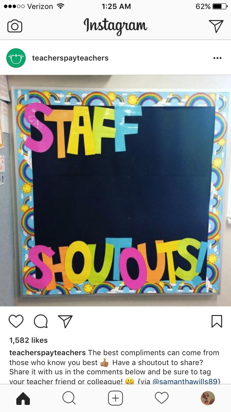 Similar board in the staff room or office for everyone to contribute to. Use sticky notes? Bulletin board?