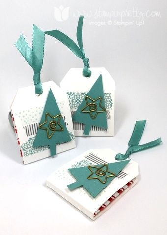 Stampin up stampin' up! stamping stampinup pretty mary fish tree punch ghirardelli