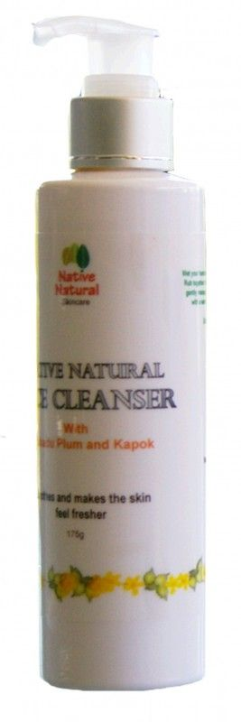 Natural Face Cleanser – Native Natural Skincare –   Containing Gallic Acid, Kakadu Plum has anti-inflammatory, anti-fungal and anti-viral activities. Kakadu Plum helps to remove the top layers of dead skin.   With Aloe juice, Native Natural Face Cleanser gently moisturizes and make the skin feel fresher. Kapok contains anti-inflammatory, anti-fungal, anti-viral and anti-histamine properties, that help sooth the skin and make the skin feel fresher. Quercetin helps... #naturalfacecleanser