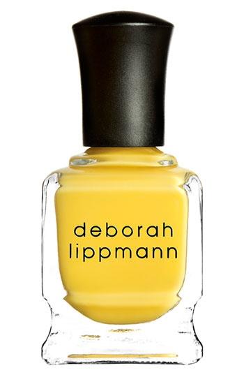 Deborah Lippmann - Yellow Brick Road. I need a GOOD yellow nail polish.