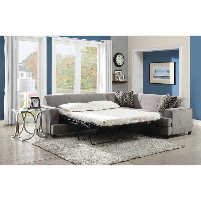Wildon Home ® Sleeper Sectional & Reviews | Wayfair
