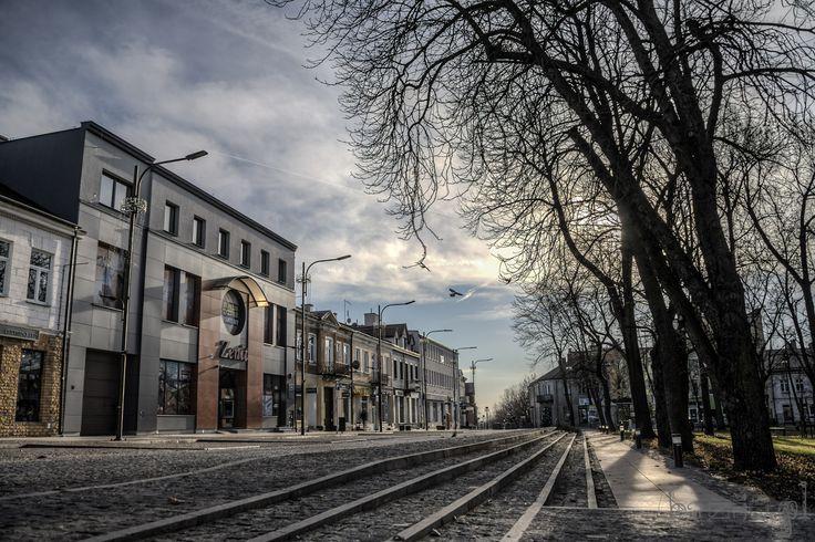 Rynek w Busku - Zdroju.