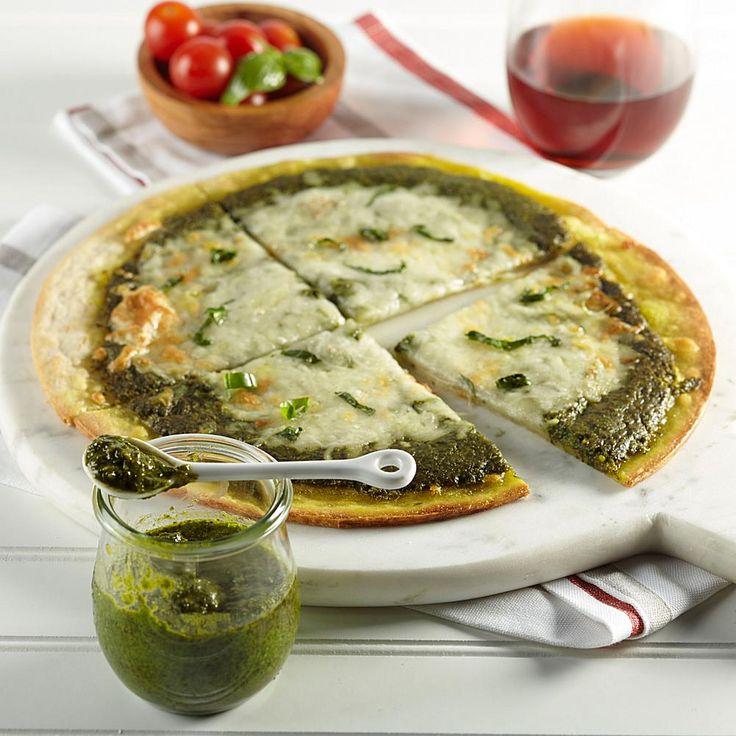 "Romarsi 10"" Frozen Basil Pesto Pizza 2-pack with Basil Pesto Sauce"